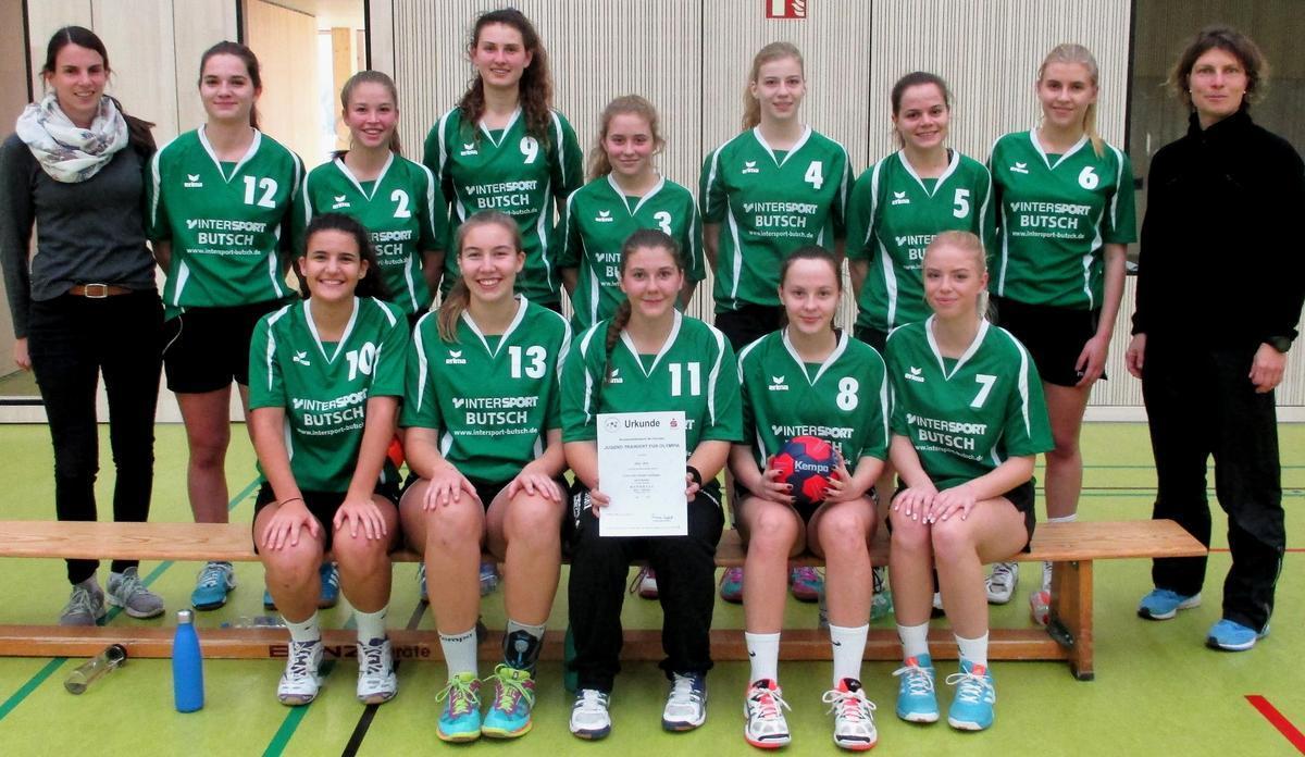 Jugend trainiert_Handball